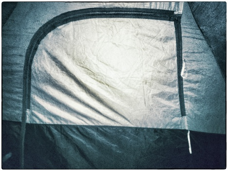 tent door